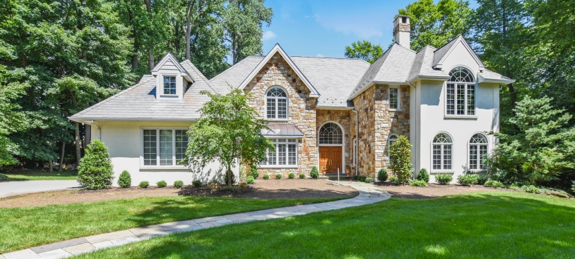 Stately Colonial in Devon, Radnor Township for sale.