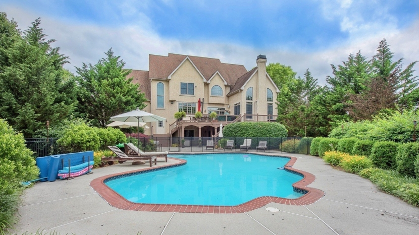 Grand Colonial with a beautiful setting in KennettSquare.